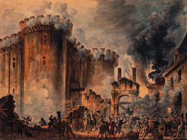 Кто взял Бастилию?